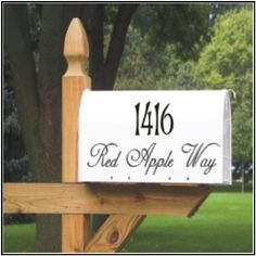 Custom Mailbox Address Vinyl Decal Stickers Mail Box Vinyl Numbers Mailbox Curb Appeal Mailbox Decals House Numbers Home Address Vinyl Monogram, Mailbox Monogram, Mailbox Numbers, House Numbers, Personalized Mailbox, Custom Mailboxes, Mailbox Decals, Great Housewarming Gifts, Have A Beautiful Day