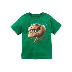 Disney / Pixar The Good Dinosaur Toddler Boy Puff-Print Tee, Size: 2T, Brt Green