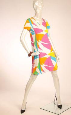 MARIMEKKO Multicolor Abstract Print Cotton Tunic Mika Piirainen XS