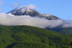 Peak Prokletije Ditutpi Mountains Fog