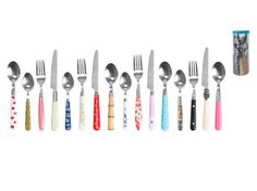 Mix and match cutlery