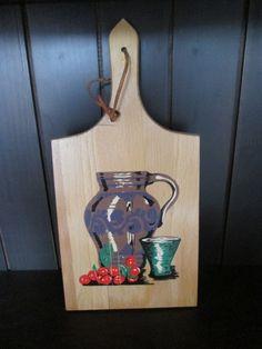 Planche à découper en bois    Vintage de la boutique Roselynn55 sur Etsy