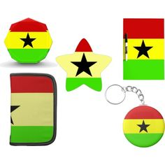 """Flag of Ghana Gifts"" by dww25921 on Polyvore  http://www.zazzle.com/flagsbydww25921*  #flag #national #zazzle"