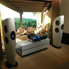 High-End Audio Listening audiophile room design