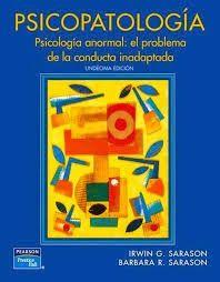 Para Descargar ---> #libro PSICOPATOLOGÍA. PSICOLOGÍA ANORMAL