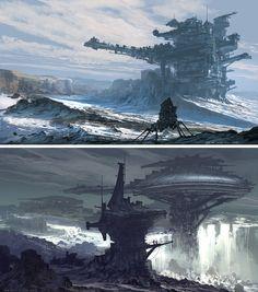 Feng Zhu Design, amazing concept artist, great concept art video tutorials.