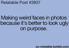 Hahahahha yeah i'd say thats true;) hha!