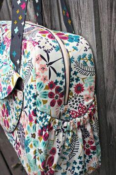 pdf sewing pattern, the Aragon Bag