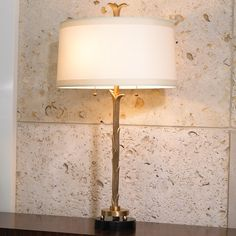 Antique Brass Finish table lamp #table #lamp #lighting #home #decor