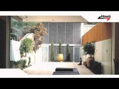 Hawa for glass/metal Sliding Glass Door, Sliding Doors, Door Detail, Metal, Wood, Interior, Outdoor Decor, Youtube, Home Decor