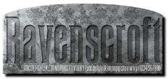Disney Haunted Mansion font [Ravenscroft]