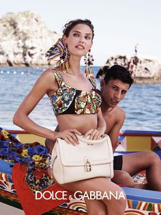 Dolce & Gabbana Spring 2013 Bianca Balti photographed by Domenico Dolce. Photos courtesy of Dolce & Gabbana View Thumbnails / S E A