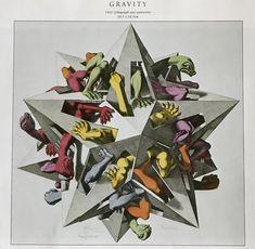 Colour is rare in Escher's work Escher Prints, Escher Art, Mc Escher, Antique Prints, Vintage Prints, Sci Fi Comics, Dutch Artists, Antique Photos, Graphic Art