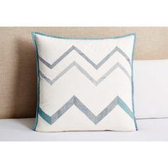 Check out this item at One Kings Lane! Sagar Euro Sham, White
