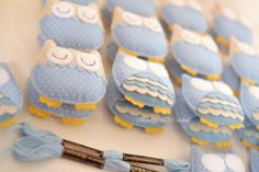 Owl. Felt & fabric                                                                                                                                                                                 Mais
