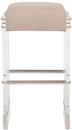 Vanguard Furniture: V377-BS Thayer Metal Frame Bar Stool