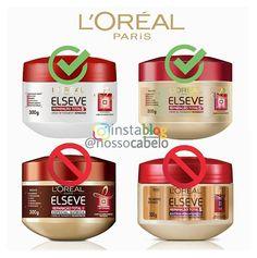 Máscaras da L'Oreal Elseve    As liberadas para NO POO e LOW POO:  (Sem Petrolatos e Silicones Insolúveis)  1. Elseve Reparação Total 5  Da embalagem branca  2. Elseve Reparação Total 5  Normal    As PROIBIDAS:  (Contém Petrolatos)  1. Elseve Reparação Total 5  Especial Química  2. Elseve Reparação Total 5  Extra-Profundo    #cabelo #cabelos #hair  #nopoo #lowpoo  #produtosliberados #loreal #elseve #reparaçãototal5  #petrolatos #silicones  #semshampoo #shampooleve  #NossoCabelo Beauty Skin, Hair Beauty, Curly Hair Styles, Natural Hair Styles, Kim Jisoo, Curly Girl Method, L'oréal Paris, Bad Hair Day, Gorgeous Hair