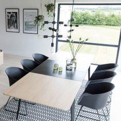 Interstil Uitschuifbare eettafel 'Connect', 200 x 100cm