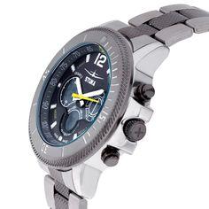 Stuka Men's SR-71 Black and Yellow Analog/ Digital Hybrid Dial Watch #Unbranded