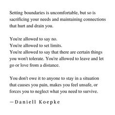 Setting Boundaries, Letting Go, It Hurts, Poses, Let It Be, This Or That Questions, Sayings, People, Instagram