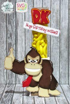Donkey Kong Wishes by Pink Glitter Studio