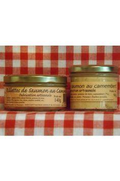 Rillettes de saumon au camembert