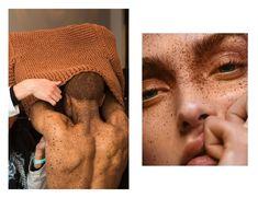 • model Ralph Souffrant • make up by Eny Whitehead, photo by David Ferrua