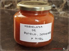 MERMELADA DE POMELO, JENGIBRE Y MIEL