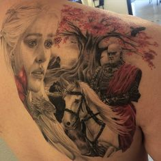"""40 """"Game Of Thrones"""" Tattoos That George R.R. Martin Can't Kill Off"""