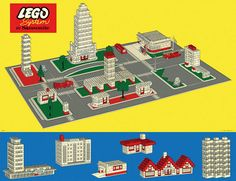 LEGO Town Plan I played for hours and hours with this