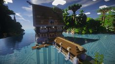 Not only does this floating house look amazing, the texture pack is incredible!.