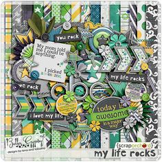My Life Rocks | Bella Gypsy Designs Digital Scrapbooking kit