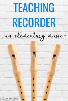 Fun sayings you can use with elementary students for teaching recorders. Great tips for teaching posture, breath support, and articulation using recorders.