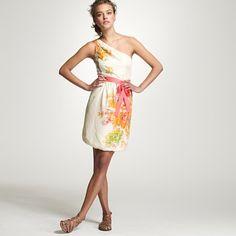 Painted silk Bridget dress