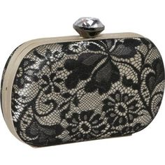 Amazon.com: Jessica McClintock Lace Minaudiere (Black): Clothing