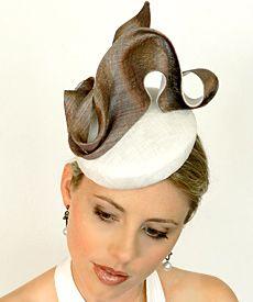 Fashion hat Mata Hari, designed by Melbourne milliner Louise Macdonald