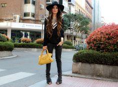 Phtos by Isabel Dosal  (JUMPER Stradivarius, JEANS Zara, SHOES Zara, HAT H&M, BAG Balenciaga)