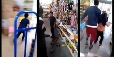 Un enfant détruit un magasin, la scène est stupéfiante, aux États-Unis, un jeune garçon se met dans une colère noire dans un magasin d'alimentation et va parcourir les allées en détruisant et renversant les produits dans les rayons...