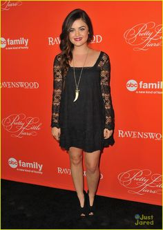 Lucy Hale: PLL's Halloween Special Screening   lucy hale pll halloween screening 04 - Photo