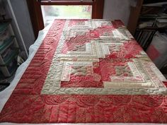 Log Cabin quilt for customer - Quilt Pictures, Patterns & Inspiration... - APQS Forums