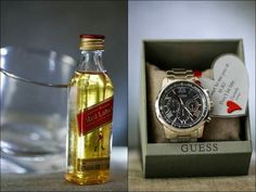 Watch gift for groom on wedding day