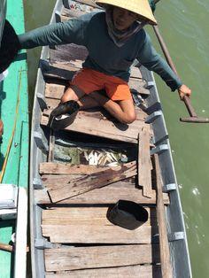 Vissen met een visser