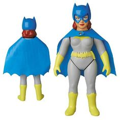 This Collectable Batgirl Doll is Made from Soft Plush Vinyl #superhero #decor trendhunter.com