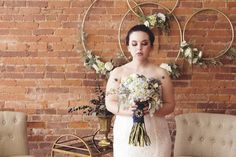 North Georgia Industrial Vintage Wedding Venue - The Corner District Wedding -- Wedding Blog - The Overwhelmed Bride