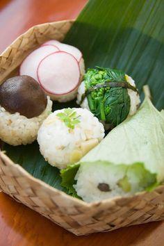 Vegetable Temarizushi, Japanese Sushi Balls for Vegan