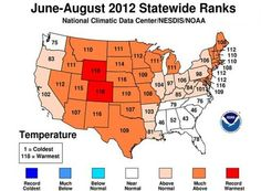 hottest temps by state - Google Search
