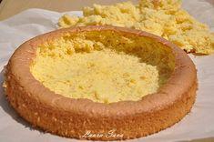 Tort de capsuni cu frisca   Retete culinare cu Laura Sava - Cele mai bune retete pentru intreaga familie Mai, Hummus, Ethnic Recipes