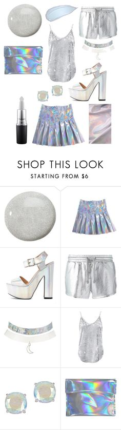 """""""Danburite"""" by briannavaughn2004 ❤ liked on Polyvore featuring Butter London, Zoe Karssen, Charlotte Russe, Sans Souci, Kate Spade and MAC Cosmetics"""