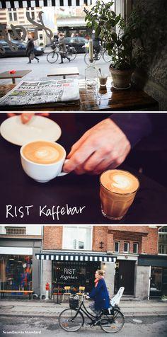 Where to Drink Coffee - Coffee Shops Cafes in Vesterbro Copenhagen - RIST Kaffebar | Scandinavia Standard