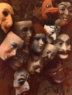 Masks, 1966, Marie Cosindas